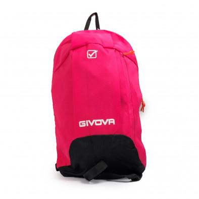 Раница за фитнес в розово Fuxia-Black it040621-36 2