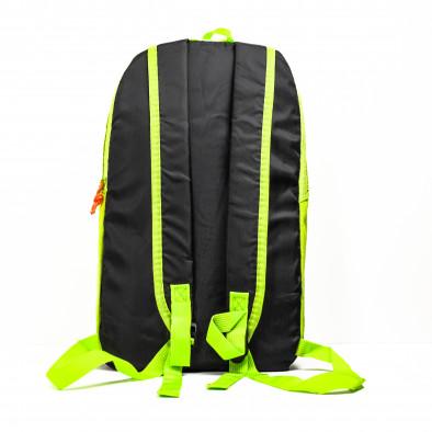 Раница за фитнес неон Yellow Fluo-Black it040621-35 3