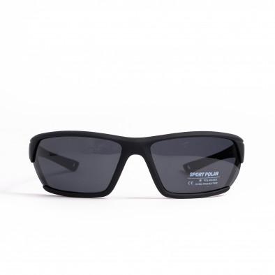 Черни спортни очила с детайл il200521-6 2