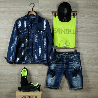 Неонова мъжка тениска Things tr080520-46 4