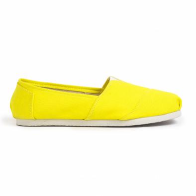 Мъжки жълти еспадрили Basic it020720-2 3