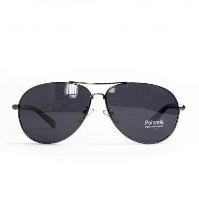 Пилотски слънчеви очила сива метална рамка il200521-1 2