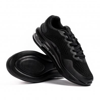 Черни маратонки с въздушна камера Max gr080621-11 4