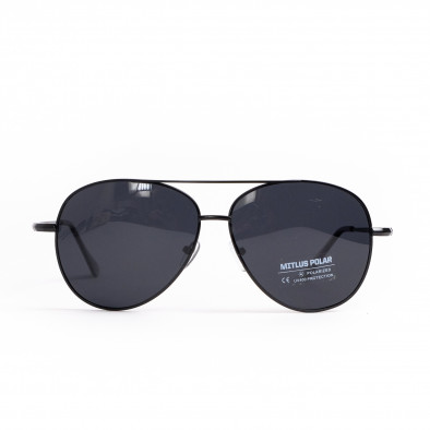 Basic пилотски слънчеви очила в черно il200521-21 2