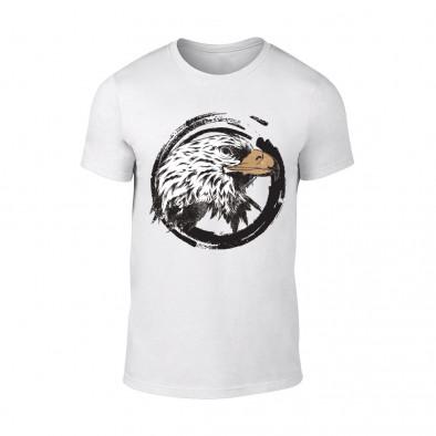 Мъжка бяла тениска Eagle TMN-M-183 2