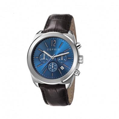 Мъжки часовник Esprit със син циферблат