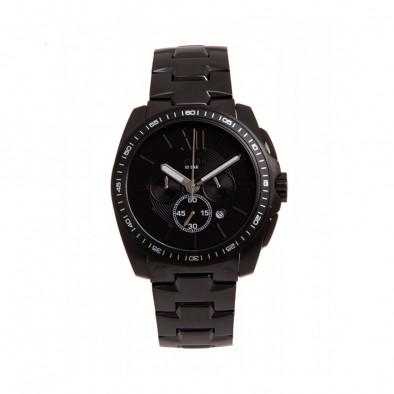 Мъжки часовник Esprit черен браслет с фосфоресциращи стрелки