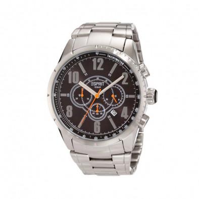 Мъжки часовник Esprit сребрист браслето с тахиметър