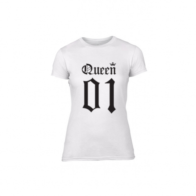 Дамска тениска King 01 & Queen 01, размер M TMNLPF015M 2