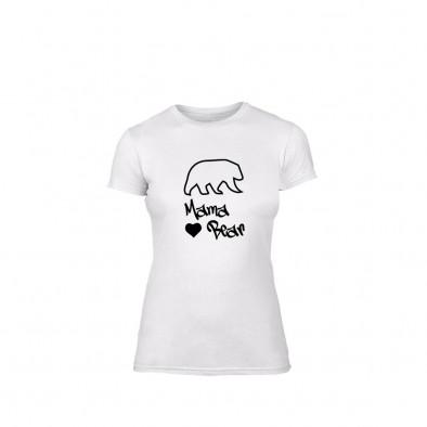 Дамска тениска Papa Bear Mama Bear, размер S TMNLPF183S 2
