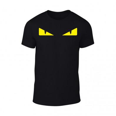 Мъжка черна тениска Bird Eyes TMN-M-078 2