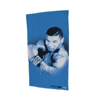 Плажна кърпа Fashionmix с щампа на легендарния Майк Тайсън 250413-6 2
