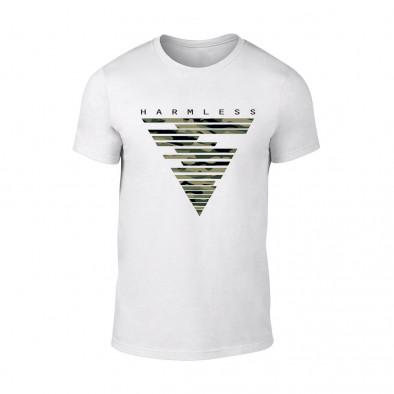 Мъжка бяла тениска Harmless TMN-M-087 2