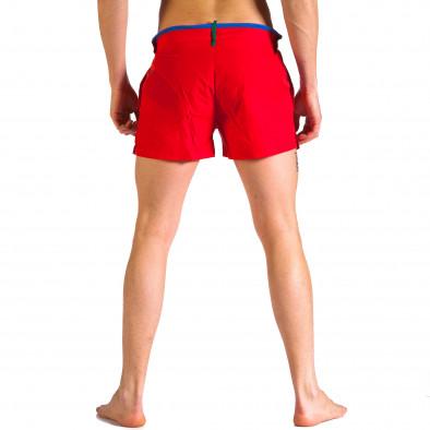 Мъжки червени бански с бандаж Justboy 4