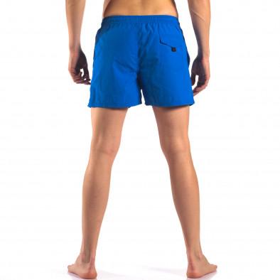 Мъжки сини бански с Американското знаме it150616-27 3