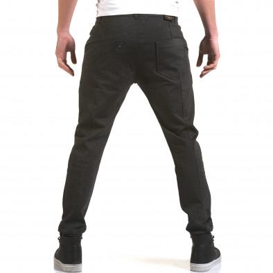 Мъжки тъмно сив панталон с италиански джобове Jack Berry 5