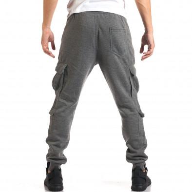 Мъжки сиви потури с джобове на крачолите it160916-25 3
