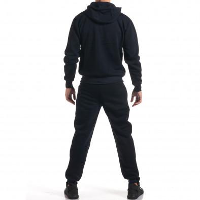 Мъжки син спортен комплект с декоративни ципове it160916-54 3