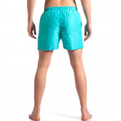 Мъжки светло сини бански с джобове it250416-58 3