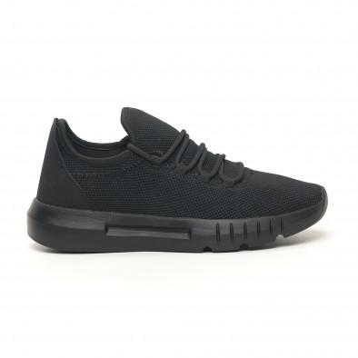 Леки мъжки маратонки All black it041119-4 3