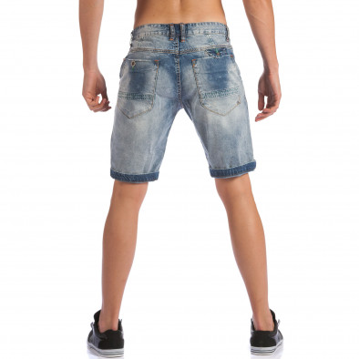 Мъжки къси дънки с допълнителни шевове ca100615-28 3