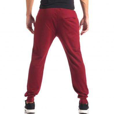 Мъжко червено долнище с номер it160816-32 3