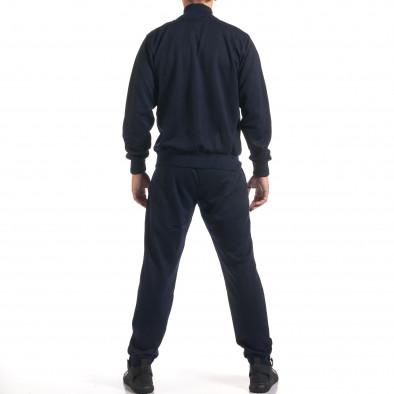 Мъжки син спортен комплект с релефен надпис N&Y it160916-79 3