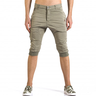 Мъжки зелени къси панталони тип потури TMK 5