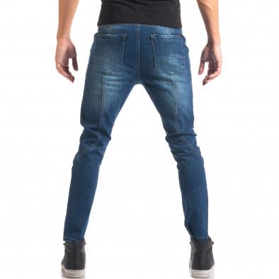 Мъжки дънки със смъкнато дъно и копчета it150816-25 3