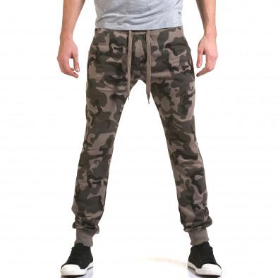 Мъжки потури кафяво-зелен камуфлаж it090216-47 2