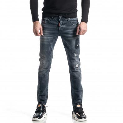 Мъжки сиви дънки Destroyed tr010221-35 3