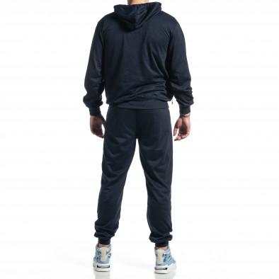 Мъжки син спортен комплект Big Size it270221-56 4