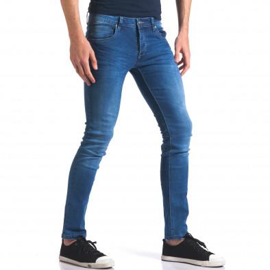 Мъжки сини дънки класически модел it250416-26 4