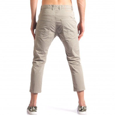 Зелен мъжки панталон 7/8 тип потури it250416-29 3