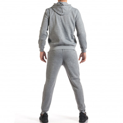 Мъжки сив спортен комплект NY it160916-62 3
