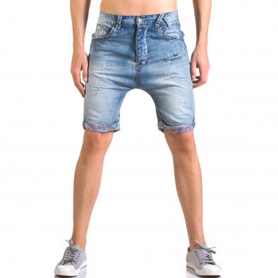 Мъжки къси дънки със скъсвания Always Jeans 5