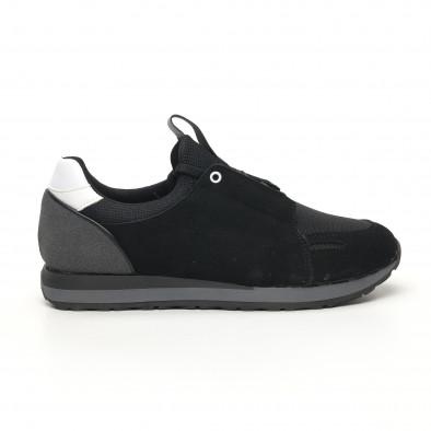 Мъжки маратонки черно и сиво tr180320-31 2