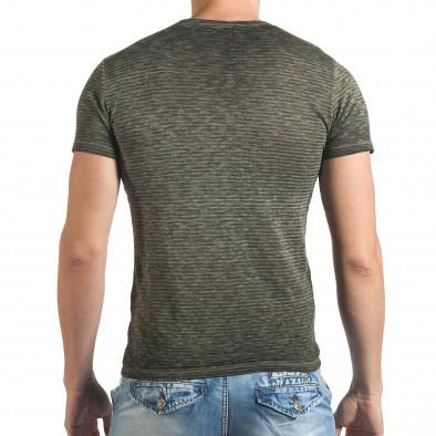 Мъжка тениска със звезди леко прозрачна tsf060416-3 3