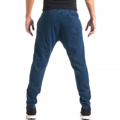 Мъжки сини потури с ефект на дънки it160816-35 3