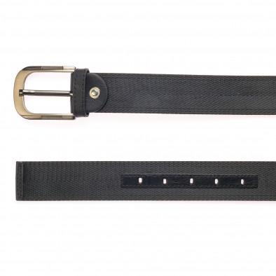 Мъжки черен колан   it250915-16 2