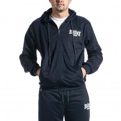 Мъжки син спортен комплект Big Size it270221-56 3