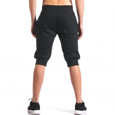 Мъжки черни къси потури със странични джобове it250416-13 3