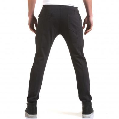 Мъжки синьо-сив панталон с италиански джобове Jack Berry 5