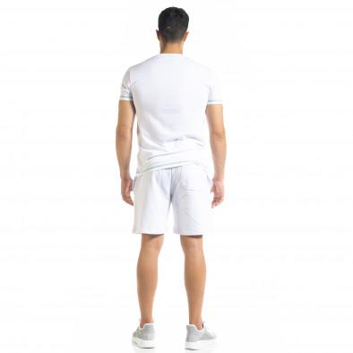 Бял мъжки спортен комплект Compass tr010720-3 3