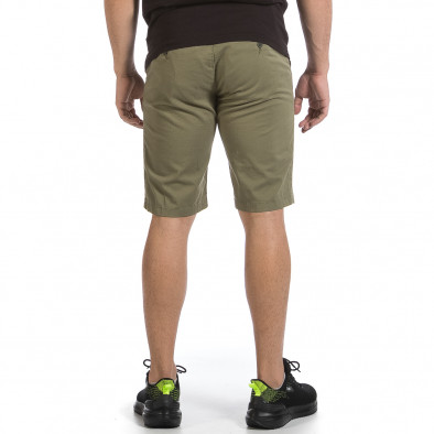 Мъжки зелени къси панталони & Big Size tr040621-27 4