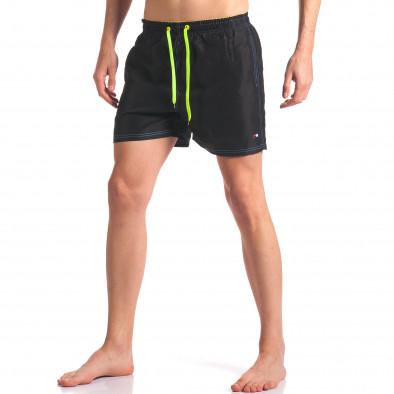 Мъжки черни бански с джобове it250416-60 2