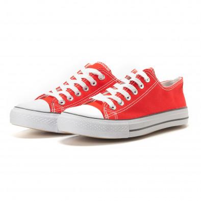 Мъжки червени кецове класически модел. Размер 42 it260117-50-1 3