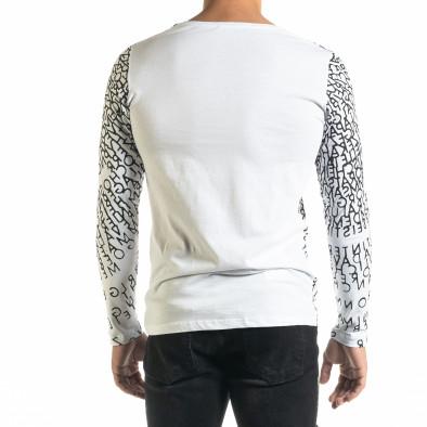 Мъжка бяла блуза Melancholy tr020920-54 3