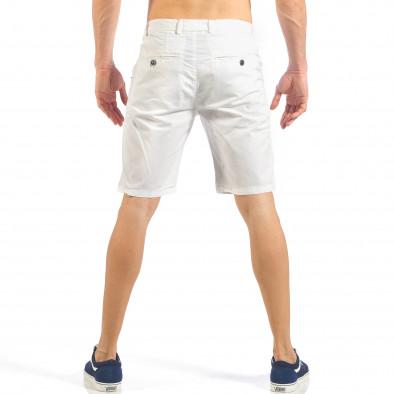 Мъжки бели къси панталони it260318-130 4