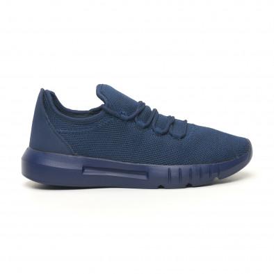 Леки мъжки маратонки син меланж it041119-2 3